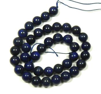 """10mm Lapis Lazuli Round Beads 40Cm 15"""" Stone B1-M304"""