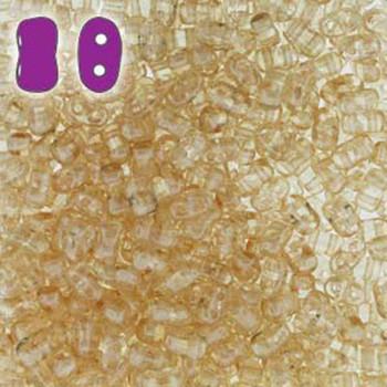 Crystal Orange Luster Bi-Bo Czech Glass 2 Hole Seed Beads 5.5x2.8mm 22Gr Bo52-00030-14413-Tb