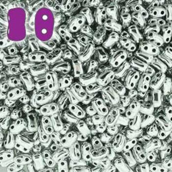 Full Labrador Bi-Bo Czech Glass 2 Hole Seed Beads 5.5x2.8mm 22Gr Bo52-00030-27000-Tb