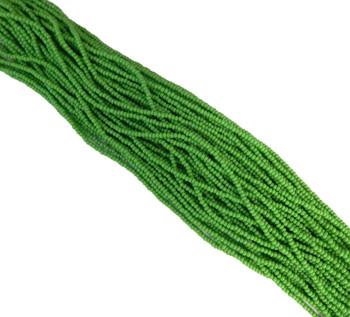 Mint Green Opaque Czech 11/0 Glass Seed Beads 1 Full Hank Preciosa 8125Sb