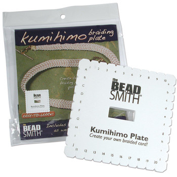 Beadsmith Kumihimo Square Disk With English Instructions, 6-Inch Kd601