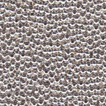 Genuine Metal Seed Beads 6/0 Silver Plated 30 Grams Mt6-Slv-Tb