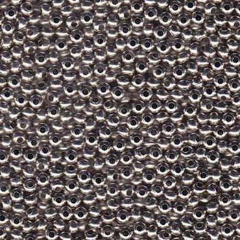 Genuine Metal Seed Beads 8/0 Nickel Plated 39 Grams Mt8-Npb-Tb
