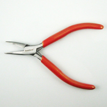Beadsmith Bent Chain Nose With Spring Pliers Craft Beading Jewelery Making Pl718