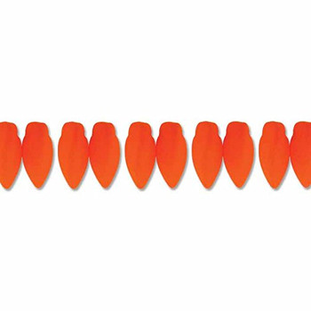 Neon Orange Czech Glass Twist Beads 6x12mm Apprx 25 Bead Loose Strand Twst61225122