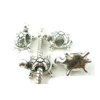 Rockin Beads 19 Turtle Charm Beads 15x11mm With 4.5mm Hole Rb03793