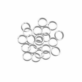 95 Round 7.5mm 19 Gauge Stainless Steel Jump Rings Usa 98874-95