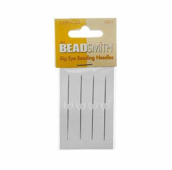 Big Eye Needles Beading (Set Of 4) - Easiest Needle To Thread Le2-4