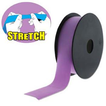 Purple 30mm Fashion Flat Stretch Cord 10 Yd Spool Jewelry Spandex