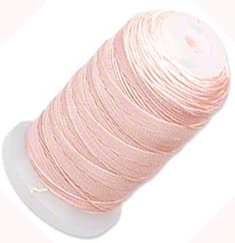 Silk Beading Thread Cord Size F Pink 0.0137 0.3480mm Spool 140 Yd 5054Bs
