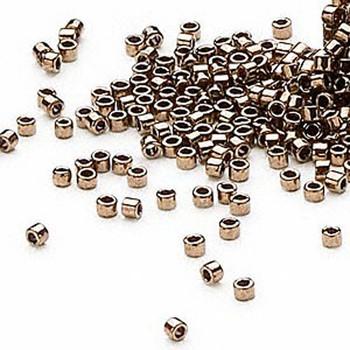 50 Grams Opaque Metallic Bronze (Db22) Delica Myiuki 11/0 Seed Bead Db0022M
