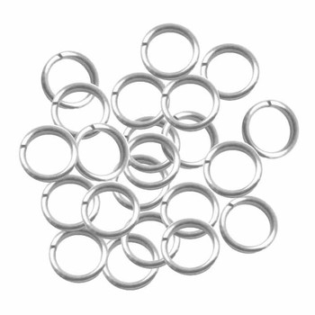 95 Round 13.5mm 16 Gauge Stainless Steel Jump Rings Connectors Usa98879