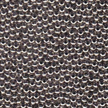 Genuine Metal Seed Beads 6/0 Nickel Plated 31 Grams Mt6-Npb-Tb