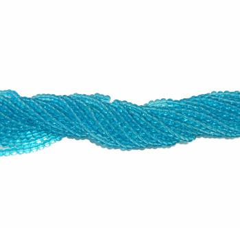 """6mm Aqua Quartz Manmade Gemstone Beads Round Beads 15"""" Loose Strand B2-6A34"""