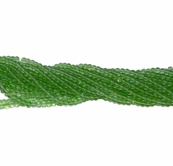 "6mm Green Quartz Manmade Gemstone Beads Round Beads 15"" Loose Strand B2-6A37"