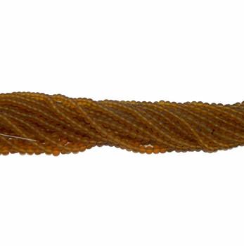 """6mm Topaz Smokey Quartz Manmade Glass Beads Round Beads 15"""" Loose Strand B2-6A7M"""