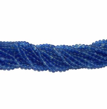 """6mm Bluebarry Quartz Manmade Round Beads 40Cm 15"""" Gemstone B2-6A42"""