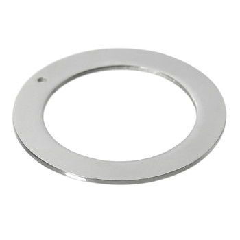 Rockin Beads 5 304 Stainless Steel Die Stamping Engraving Blanks Tags Donuts Ring 32mm 1-1/4 Inch Rb60340