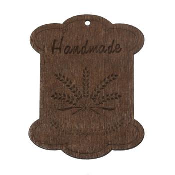 10 Wood Floss Bobbin Barley Thread Cards Rb60000