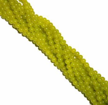 "8mm Jade New Jade Dyed Round Beads 40cm 15"" Gemstone"