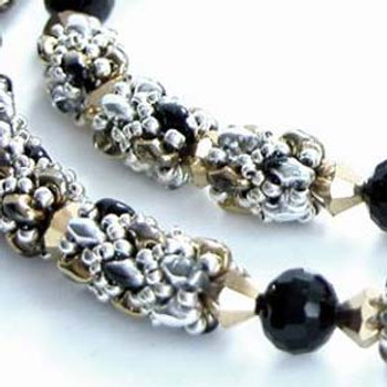 NIGHT OUT ON THE TOWN- Free Jewelry Making Project complements of Bead Smith(R)