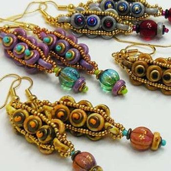 COBBLESTONE- Free Jewelry Making Project complements of Bead Smith(R) COBBLESTONE