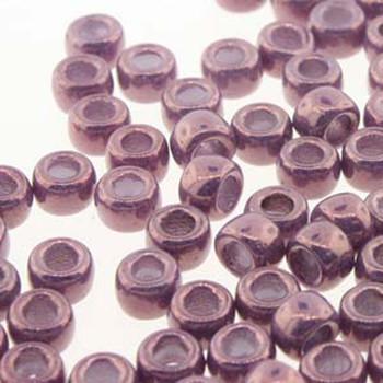 Matubo Czech Glass Seed Beads 8/0 3.1mm 7.5Gr 1.2mm Hole Vaga On Chalk Mtb08-03000-15726-Tb