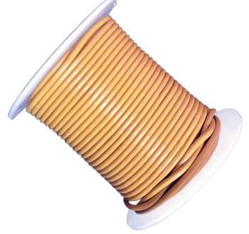Saffron Yellow 2mm Buffalo Leather Round Cord 25 Yards Ba-He-Rlc8-2mmsaffron