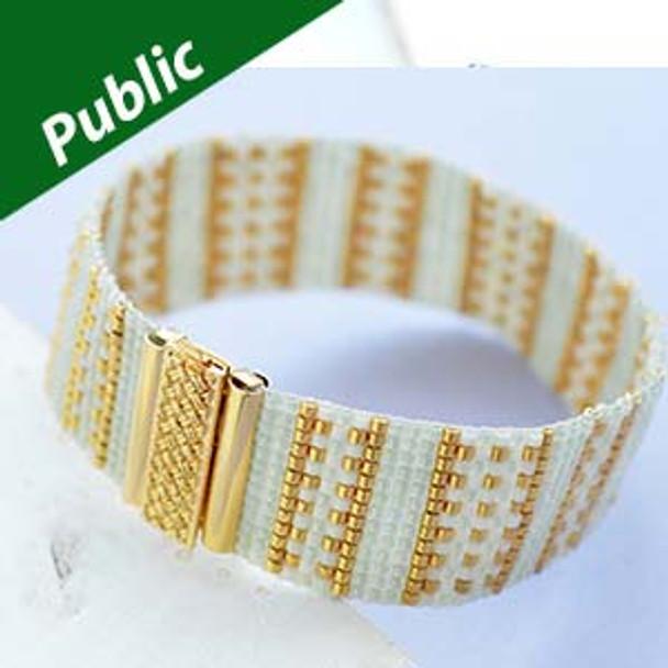 Gold Line Bracelet