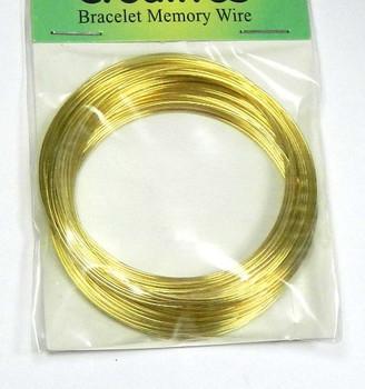 Rockin Beads Memory Beading Wire 2-1//4 Inch Bracelet 0.55-0.60mm Spring Steel
