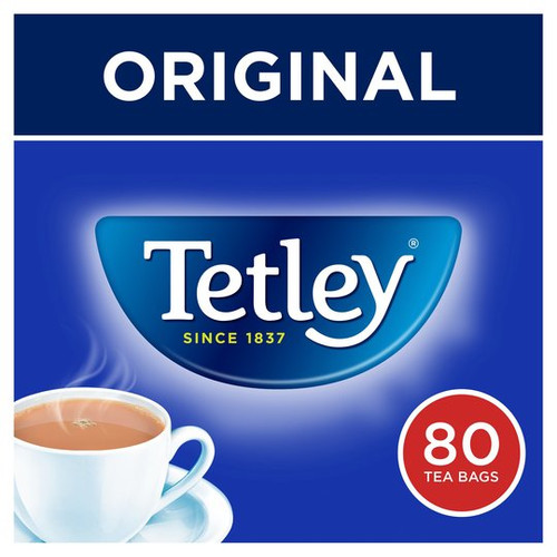 Tetley Original Tea Bags x80 (SALE)