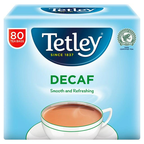 Tetley Original Decaf Tea Bags PMP x80