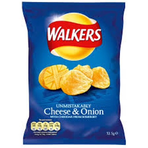 Walkers Cheese & Onion 32.5G