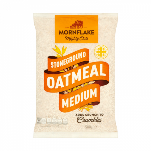 Mornflake Stoneground Medium Oatmeal 500g