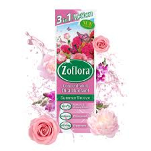 Zoflora 3 in 1 Action Concentrated Disinfectant Summer Breeze 250ml