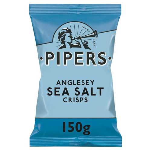 Pipers Crisps Sharing Bag Anglesey Sea Salt 150g