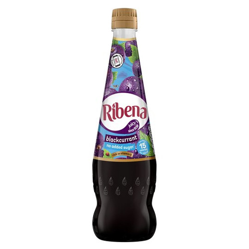 Ribena Blackcurrant Concentrate No Added Sugar 850ml
