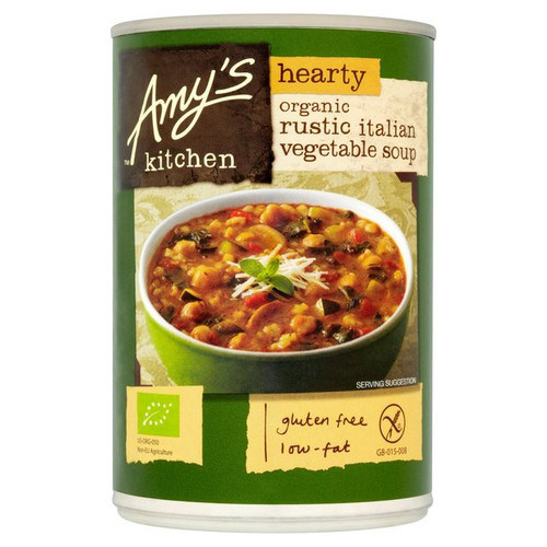 Amy's Kitchen Hearty Rustic Italian Vegetable Soup 397G