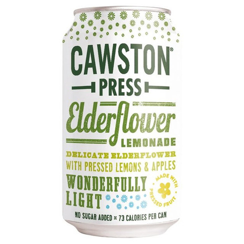 Cawston Press Elderflower Lemonade, can 330ML