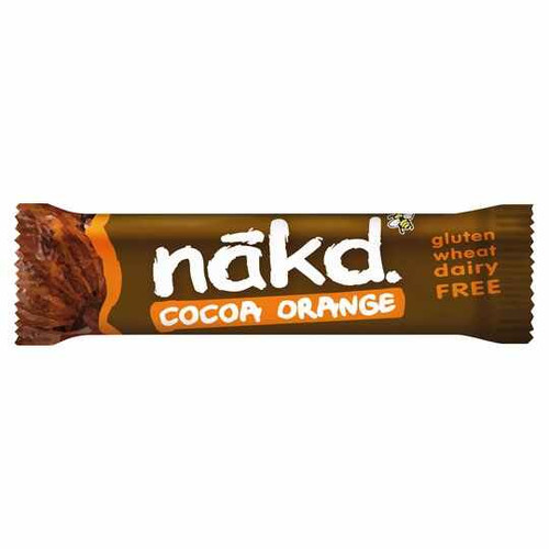 Nakd Gluten Free Cocoa Orange Bar 35G