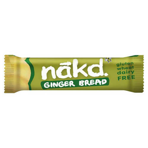 Nakd Gluten Free Ginger Bread Bar 35G