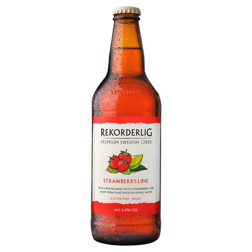Rekorderlig Premium Strawberry-Lime Cider 500ml