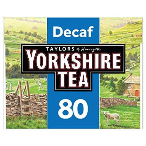 Taylors of Harrogate Yorkshire Tea Decaf 80 Tea Bags 250g