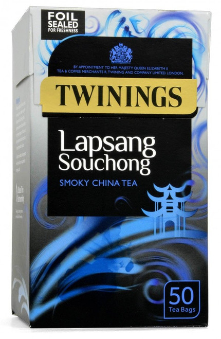 Twinings Smoky Lapsang Souchong, teabags 20s