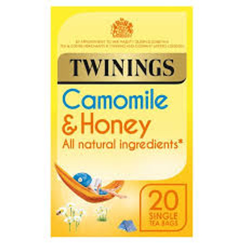 Twinings Camomile & Honey, teabags 20S