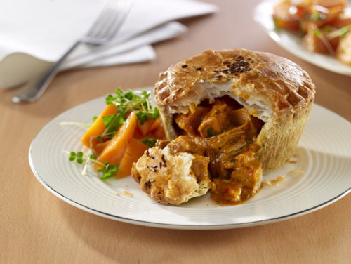Wright's Chicken Balti Pie
