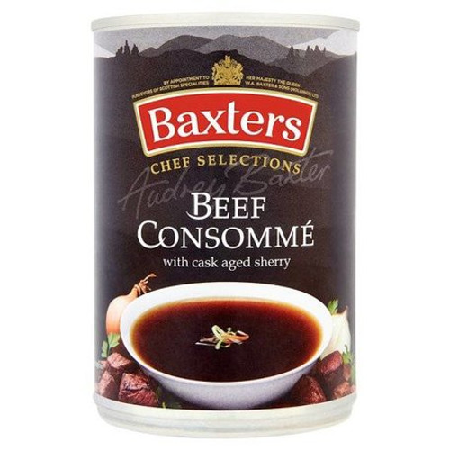 Baxters Beef Consumé with Cask Aged Sherry 400g
