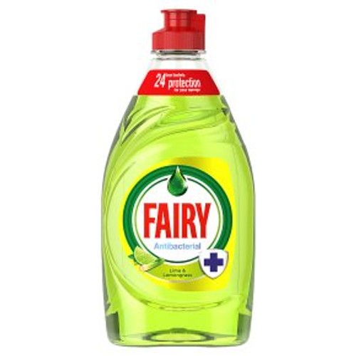 Fairy Lime & Lemongrass Washing Up Liquid 383ml