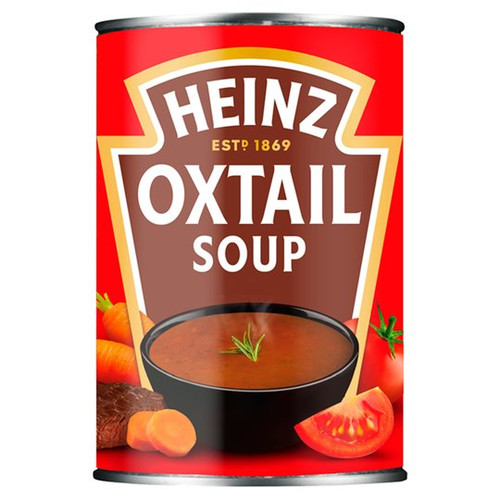 Heinz Classic Oxtail Soup 400g x 4 Pack