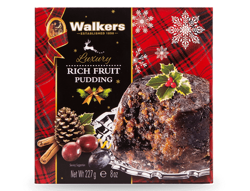 Walkers Rich Fruit Christmas Pudding 227g